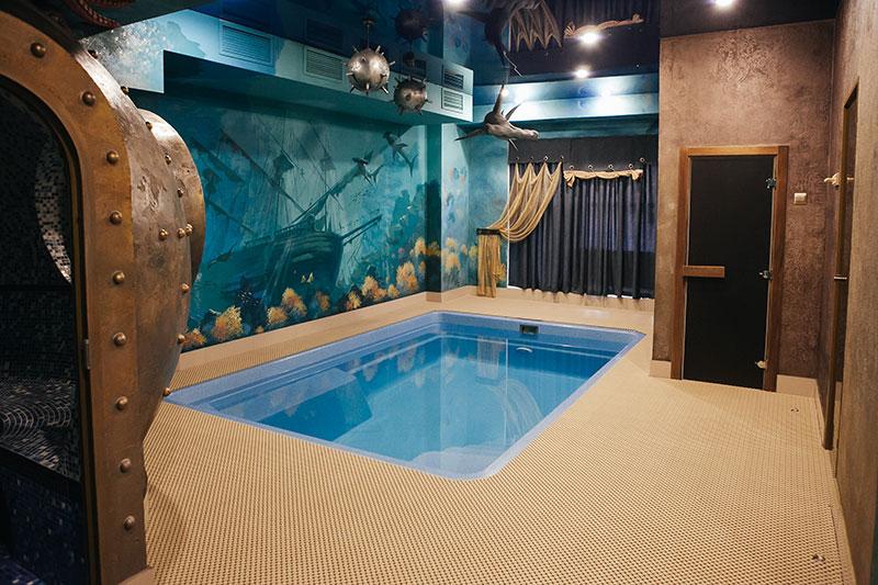 мини бассейн в помещении